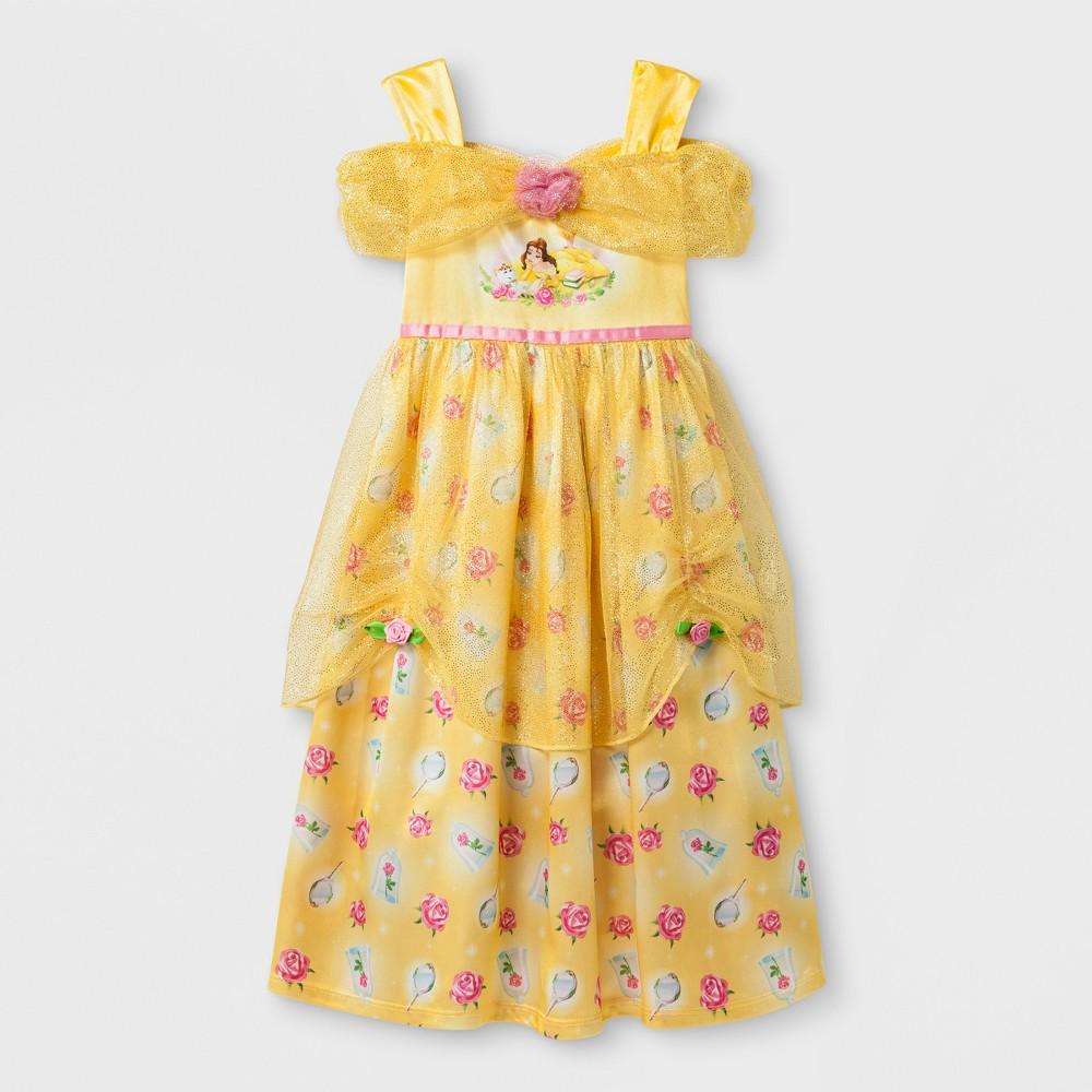 Toddler Girls Disney Princess Belle Gown - Yellow 3T