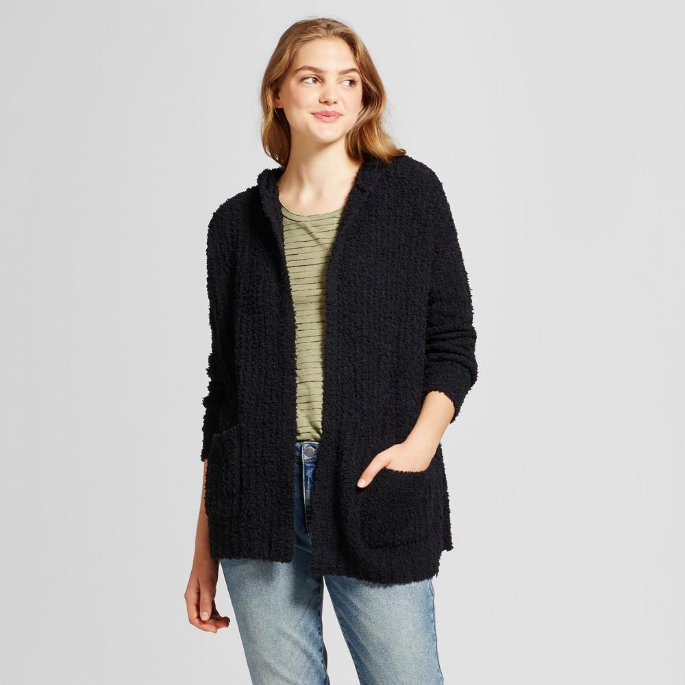 Womens Oversized Cozy Cardigan - Mossimo Supply Co. Black Xxl