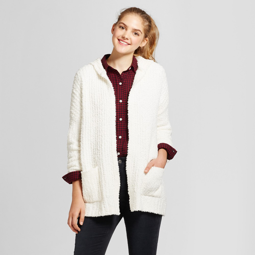 Womens Oversized Cozy Cardigan - Mossimo Supply Co. Cream (Ivory) M