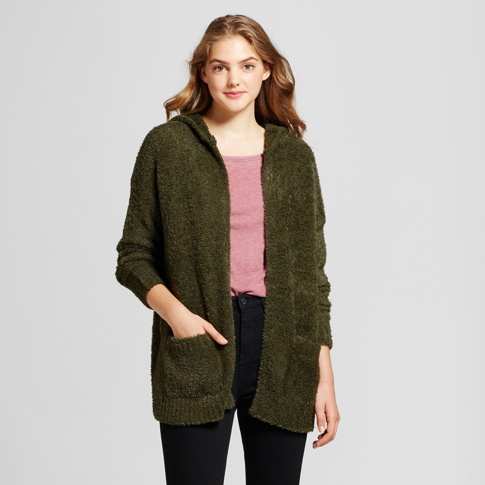 Womens Oversized Cozy Cardigan - Mossimo Supply Co. Olive (Green) XS
