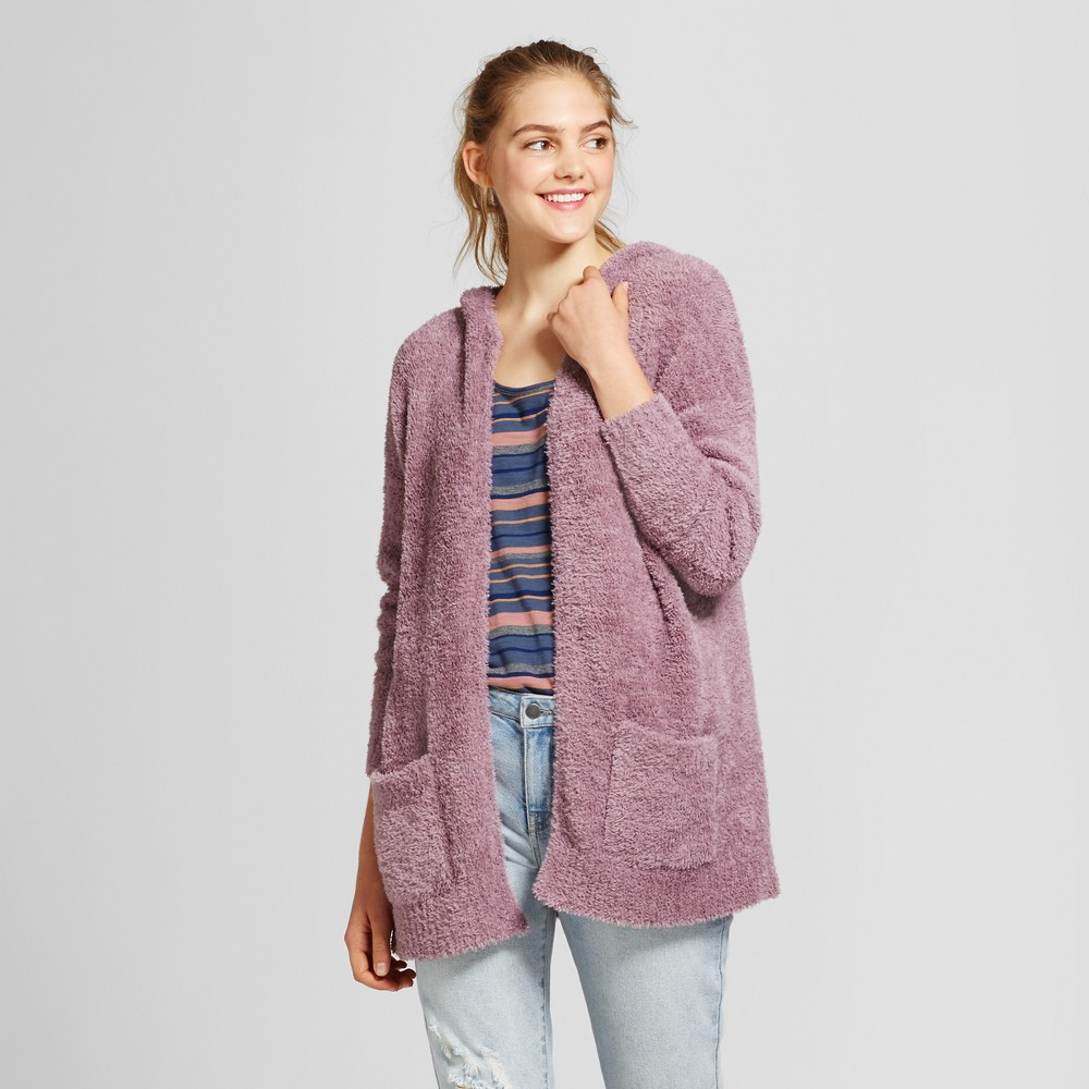 Womens Oversized Cozy Cardigan - Mossimo Supply Co. Purple L