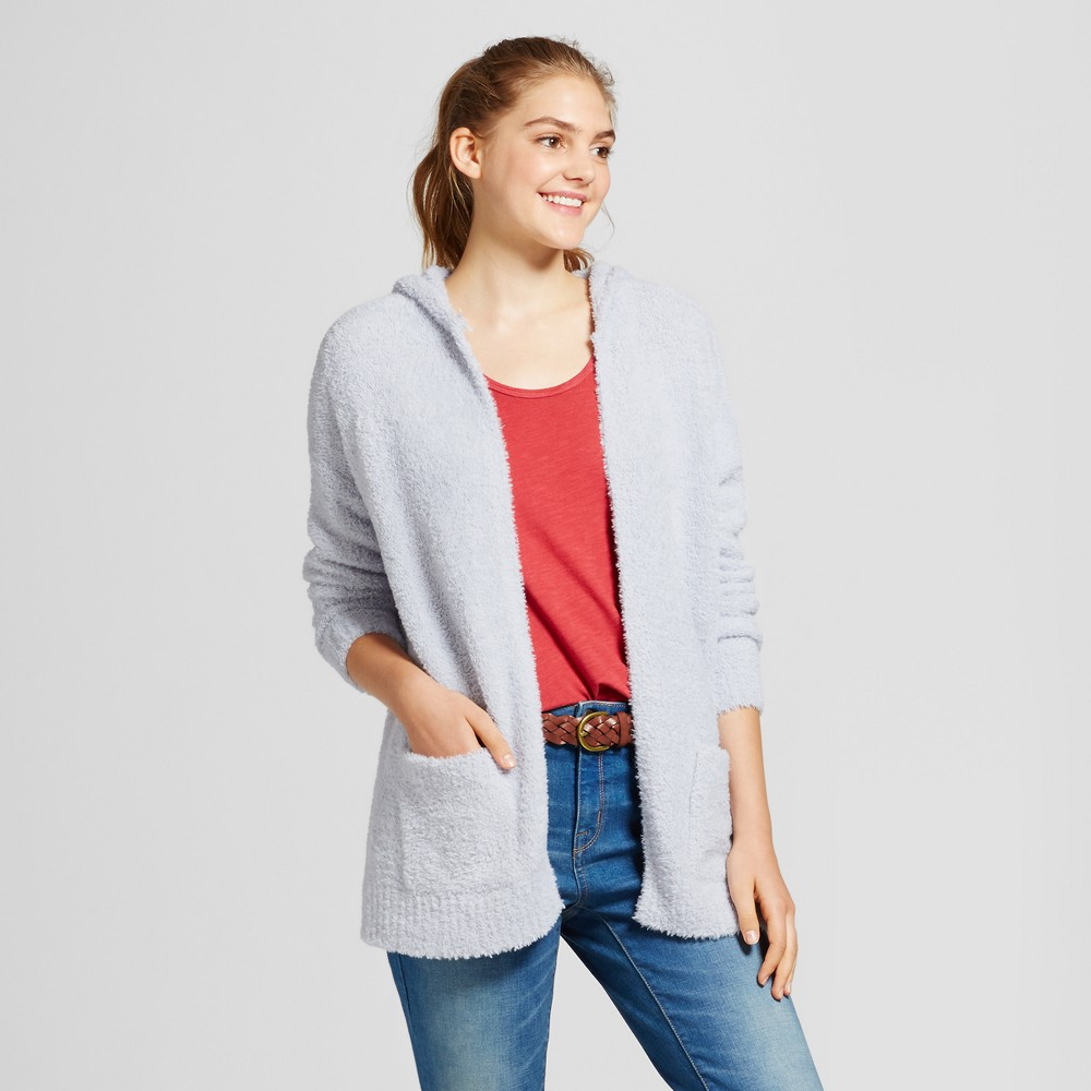 Womens Oversized Cozy Cardigan - Mossimo Supply Co. Blue M