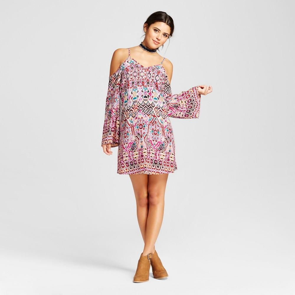 Womens Cold Shoulder Shift Dress - Xhilaration (Juniors) Lavender (Purple) S