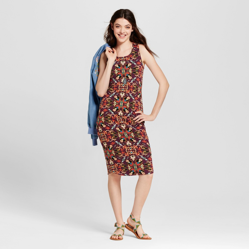 Womens Bodycon Dress - Xhilaration (Juniors) Fuchsia Xxl, Pink