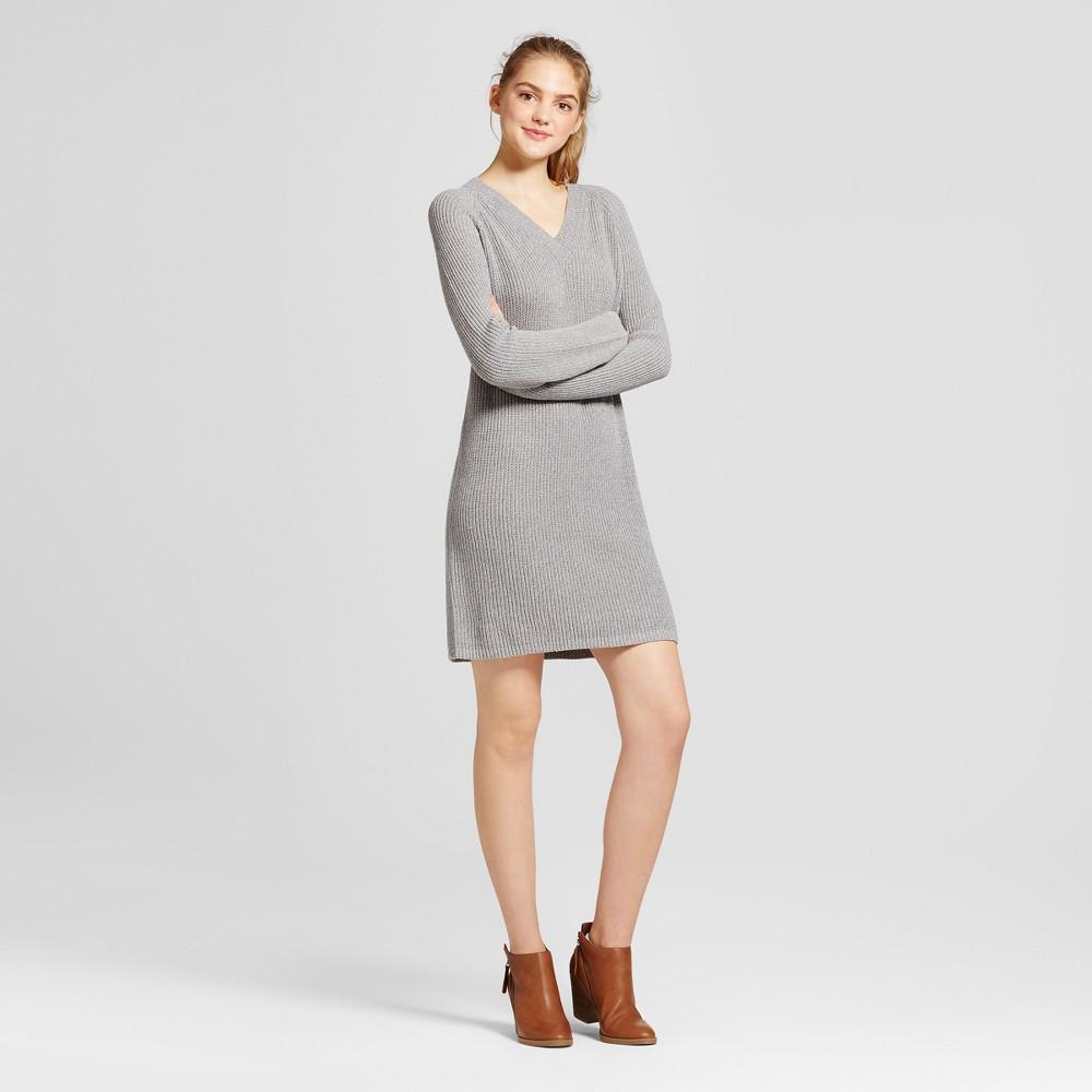 Womens Shaker Stitch Dress - Mossimo Supply Co. Gray L