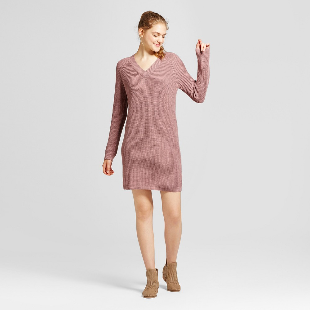 Womens Shaker Stitch Dress - Mossimo Supply Co. Purple M