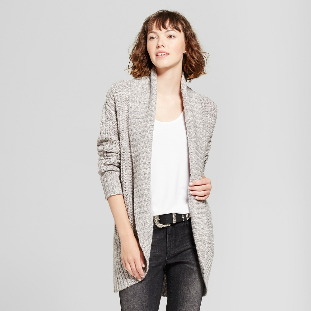 Womens Chunky Cocoon Cardigan - Mossimo Supply Co. Gray XS