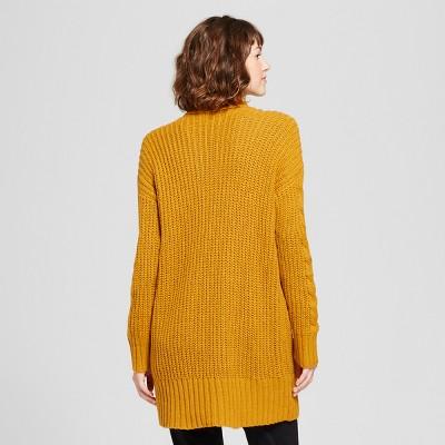 mustard yellow cardigan womens : Target