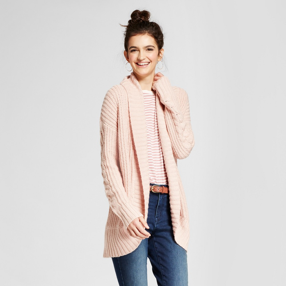 Womens Chunky Cocoon Cardigan - Mossimo Supply Co. Pink XS