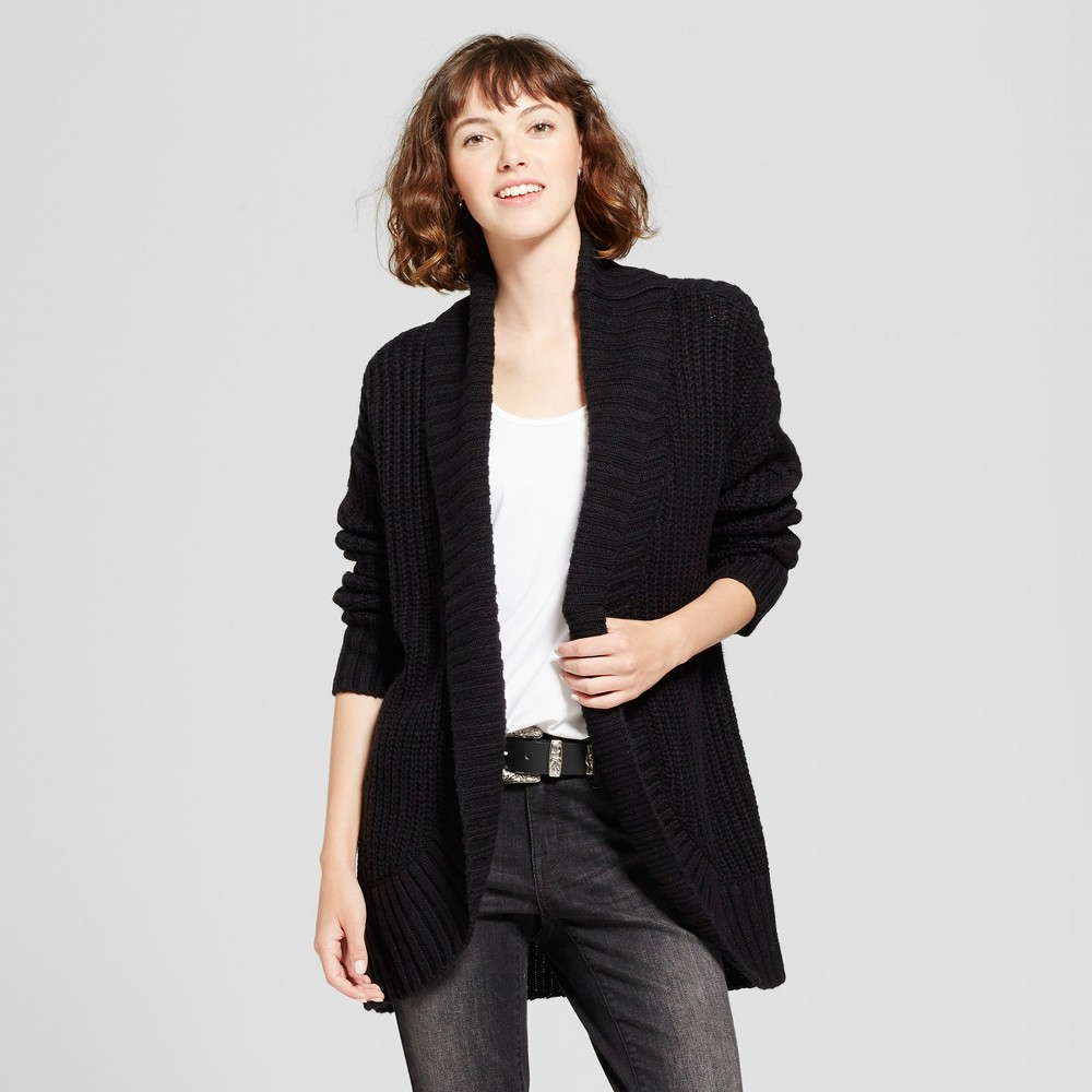 Womens Chunky Cocoon Cardigan - Mossimo Supply Co. Black S