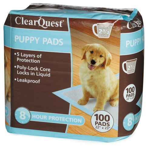 ClearQuest Puppy Pads 100ct Bag - image 1 of 1