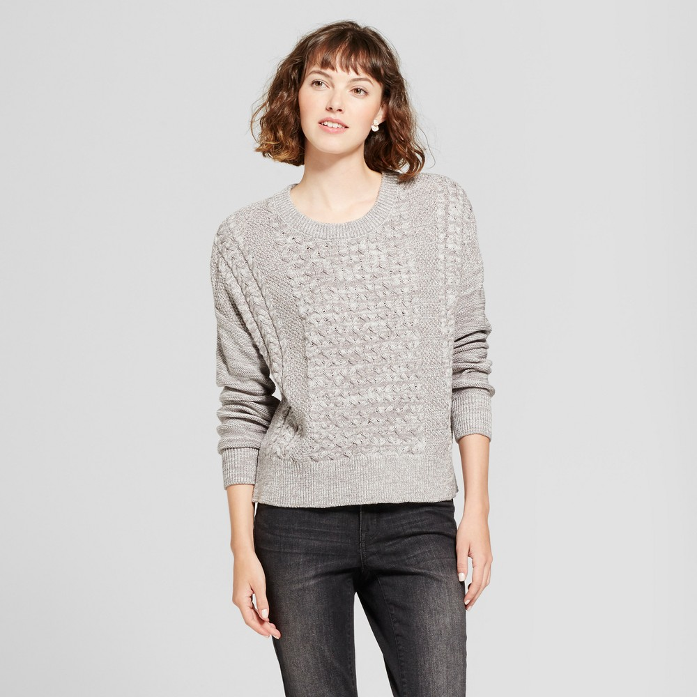 Womens Pullover Sweater - Mossimo Supply Co. Gray XS
