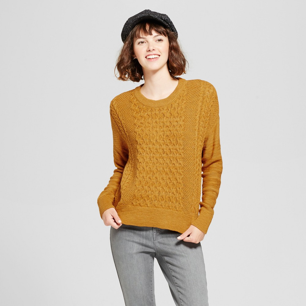 Womens Pullover Sweater - Mossimo Supply Co. Yellow L