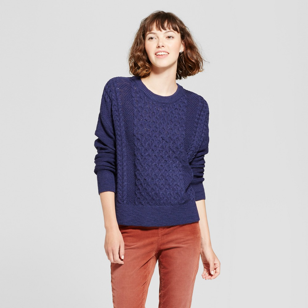 Womens Pullover Sweater - Mossimo Supply Co. Navy (Blue) L