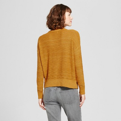 mustard yellow pullover sweater : Target