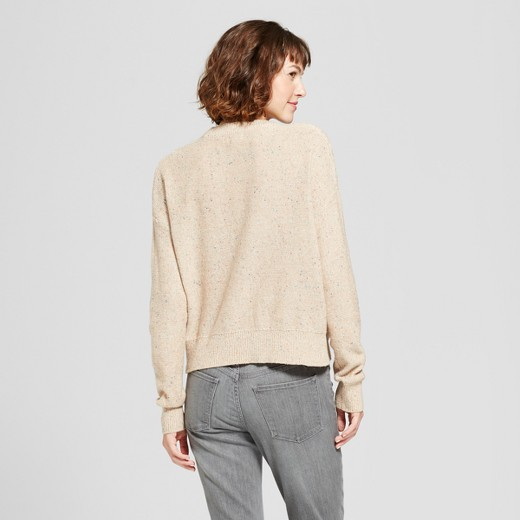 Women's Pullover Sweater - Mossimo Supply Co.™ Oatmeal : Target