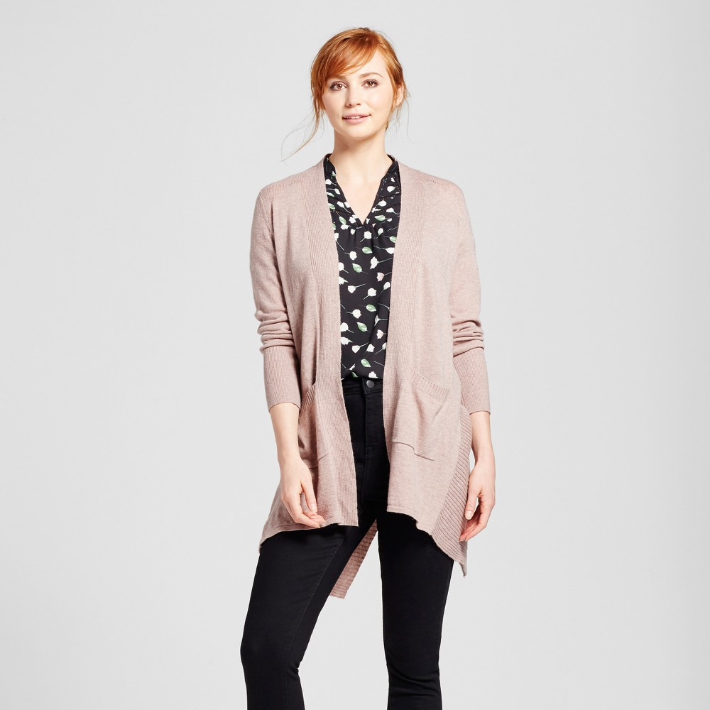 Womens Open Layering Cardigan with Envelope Back - Mossimo Light Purple Xxl