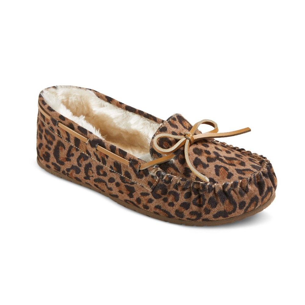 Womens Chaia Suede Moccasin Slippers - Mossimo Supply Co. Leopard 6