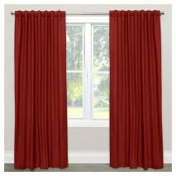 Window Curtain Panels Red