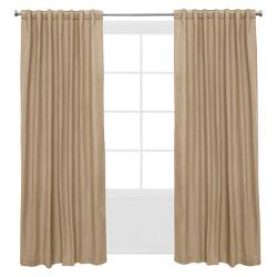 Window Curtain Panels Tan