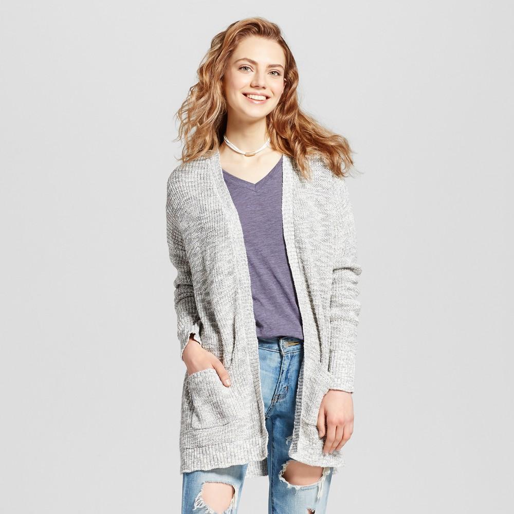 Womens Shaker Stitch Cardigan - Mossimo Supply Co. Gray XS