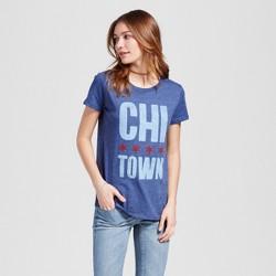 Women's Chicago Town T-Shirt - Navy (Juniors')