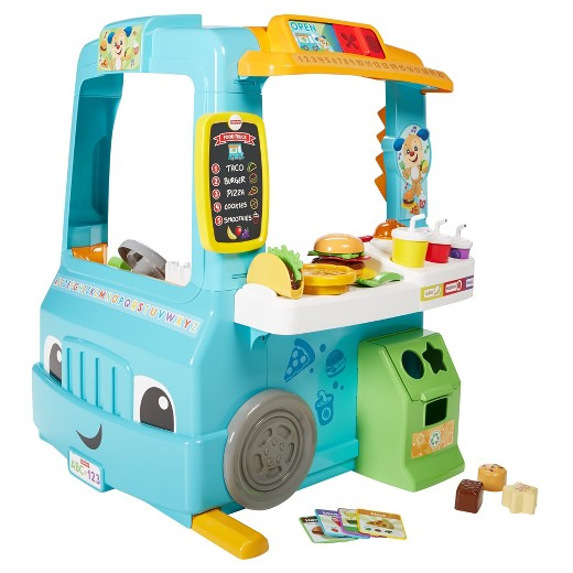 Toys R Us Play Dishes : Fisher price laugh and learn servin up fun food truck