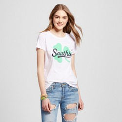 Women's Boston Southie T-Shirt - White (Juniors')