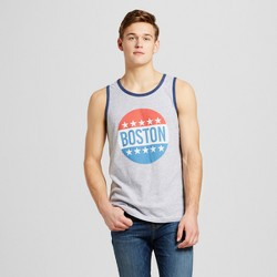 Men's Boston All American Tank - Heather Gray