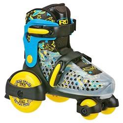 Roller Derby® Boys' Fun Roll Jr. Adjustable Size Quad Skates - Blue/Yellow