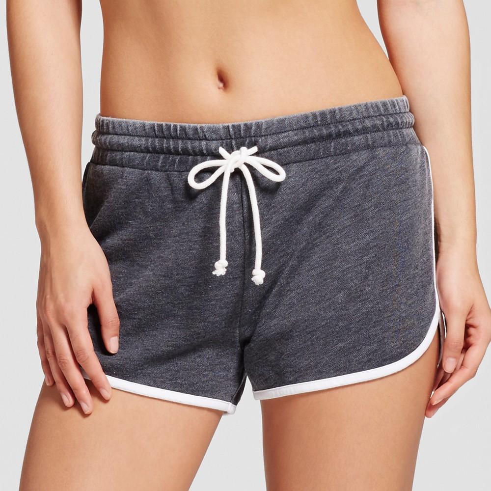 Womens Pajama Shorts - Grayson Threads (Juniors) Black Crown XS