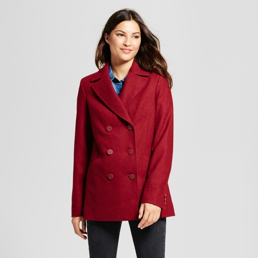 Women's Modern Pea Coat - A New Day™ : Target
