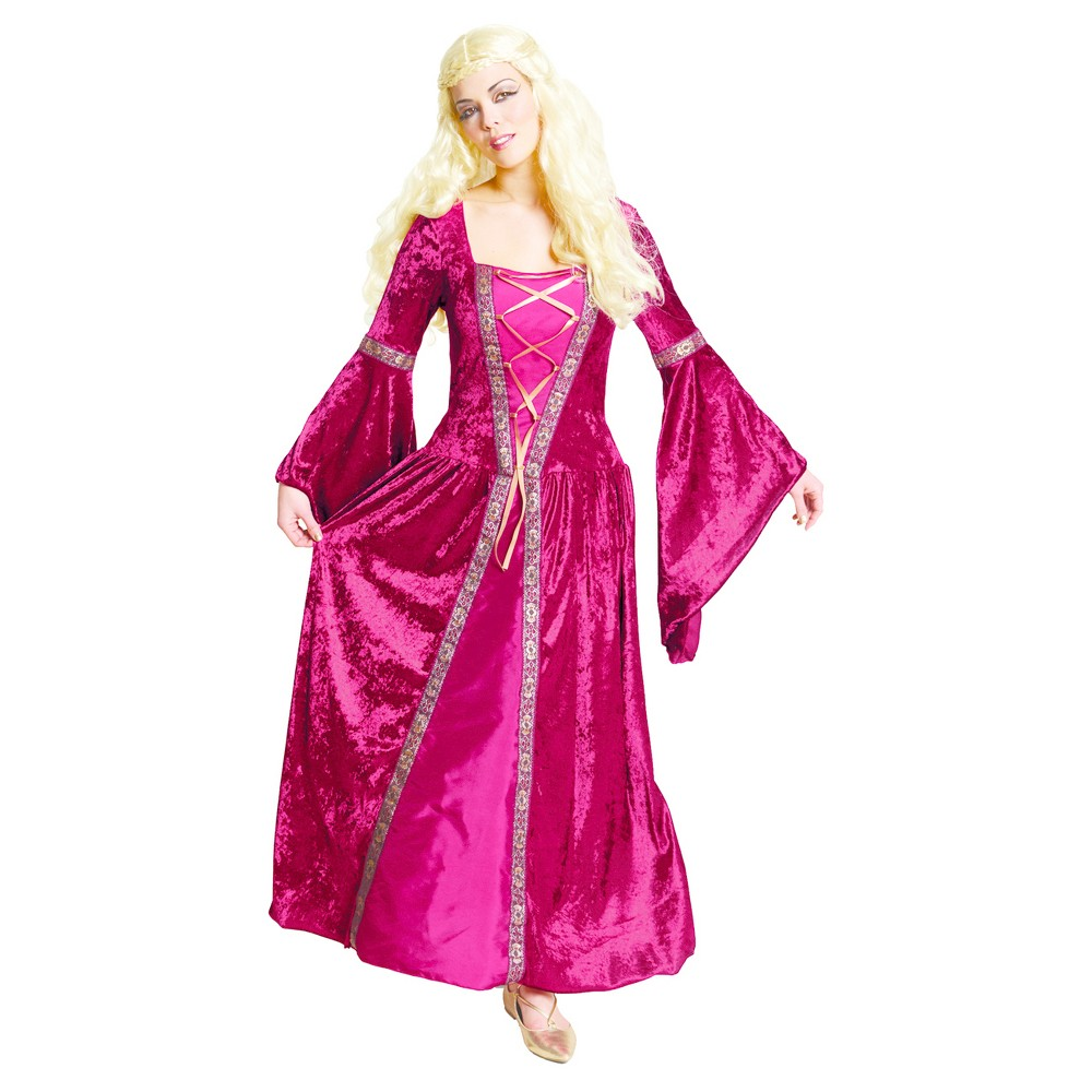 Womens Medieval Queen Costume - M (7-8) - Hyde and Eek! Boutique, Red