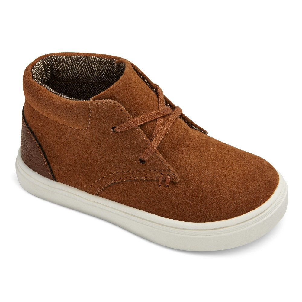 Toddler Boys Heaton Casual Chukka Boots Cat & Jack - Brown 5, Light Brown