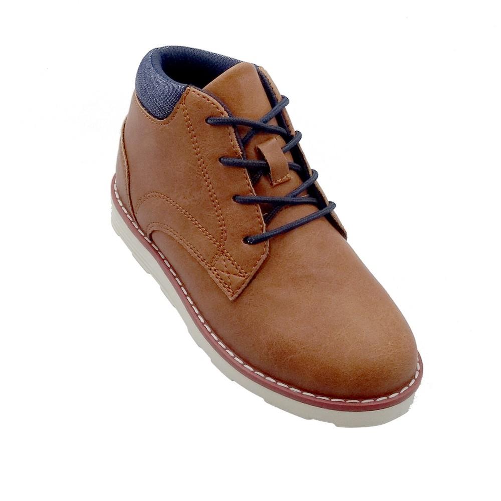 Boys Nathan Sneakers - Cat & Jack Brown 5