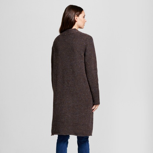 Women's Boyfriend Snap Cardigan - Mossimo™ Brown : Target