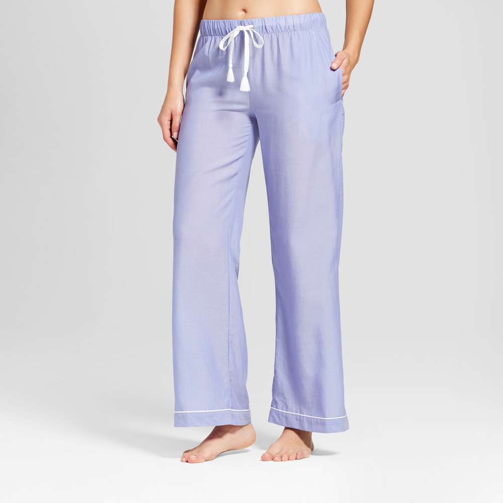 Womens Tencel Pajama Pants Violet L, Purple