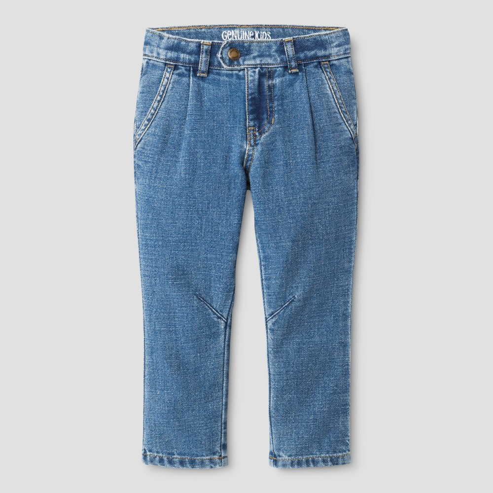 Toddler Boys Jeans Genuine Kids from OshKosh - Light Wash 18M, Size: 18 M, Blue