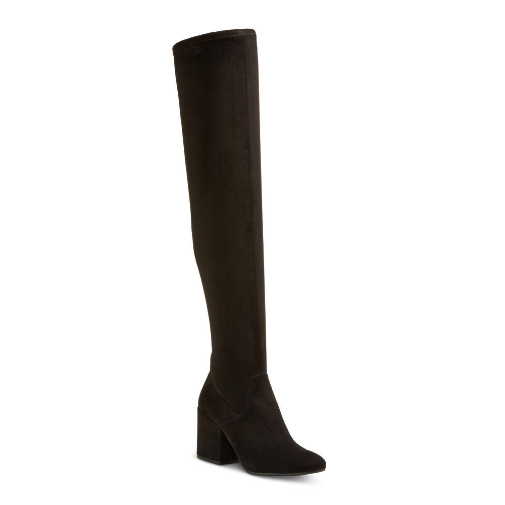 Womens dv Cayla Over the Knee Boots - Black 7.5