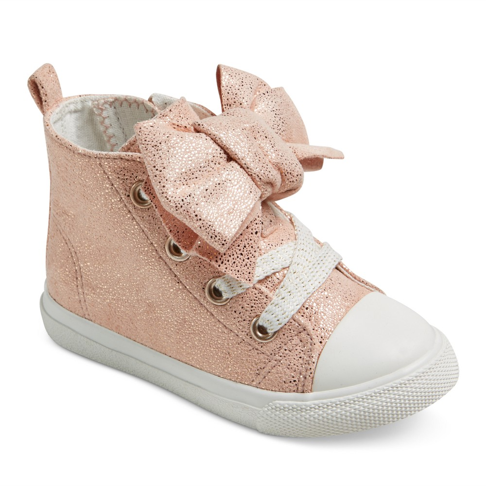 Toddler Girls Jory High Top Sneakers 8 - Cat & Jack Pink