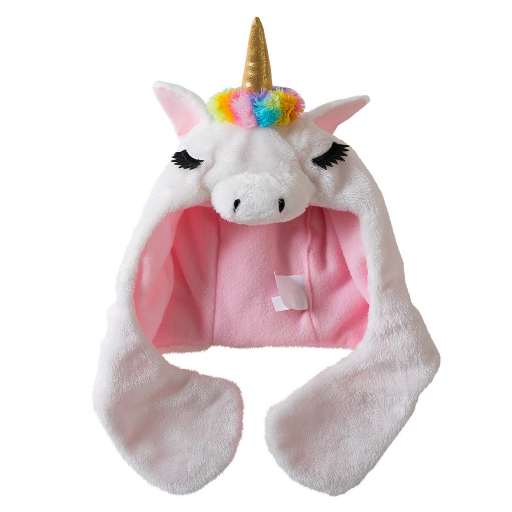 Kids Rainbow Unicorn Headdress - Hyde and Eek! Boutique, Kids Unisex, White