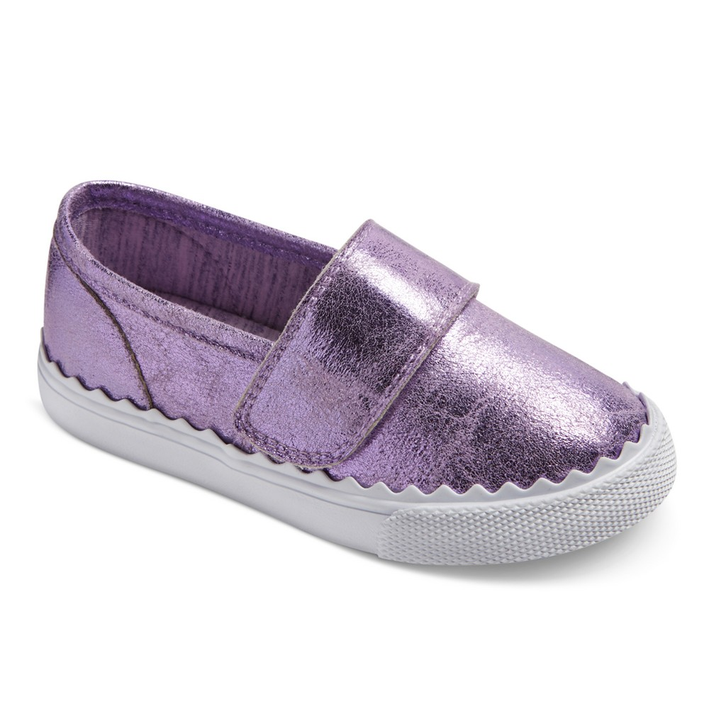 Toddler Girls Clarice Single Strap Velcro Sneakers 9 - Cat & Jack - Purple