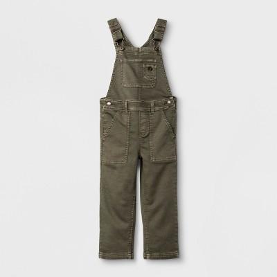 Toddler Boys' Overalls Genuine Kids™ from OshKosh® - Olive 18M