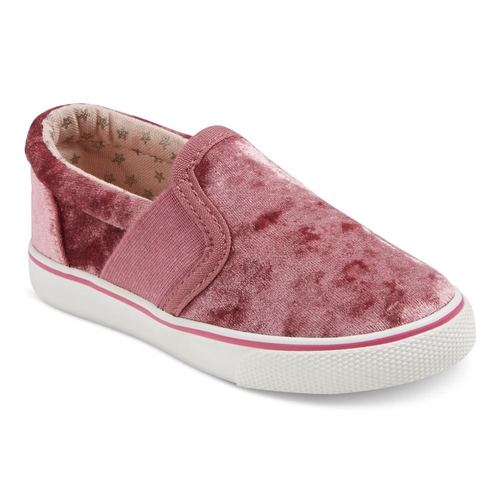 Toddler Girls Jane Double Gore Sneakers 9 Cat & Jack - Blush