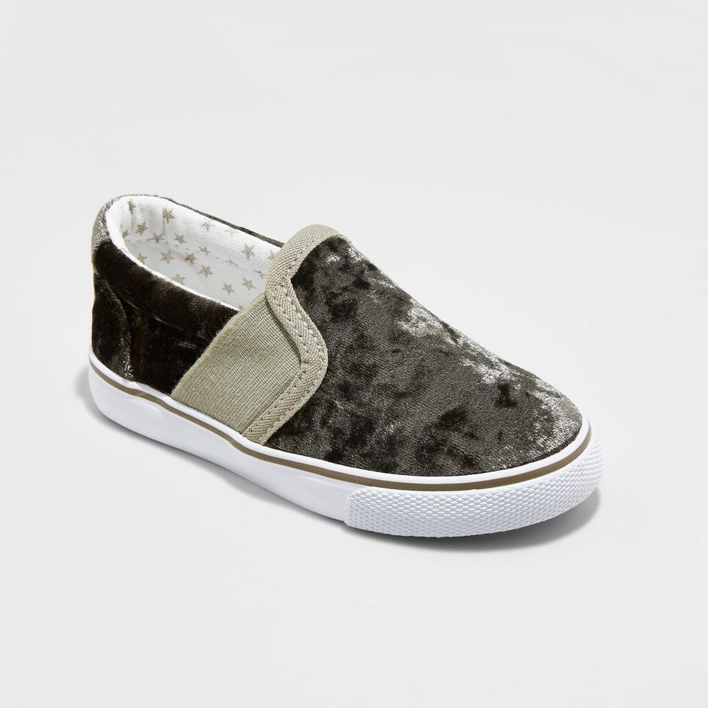Toddler Girls Jane Double Gore Sneakers - Cat & Jack Green 6
