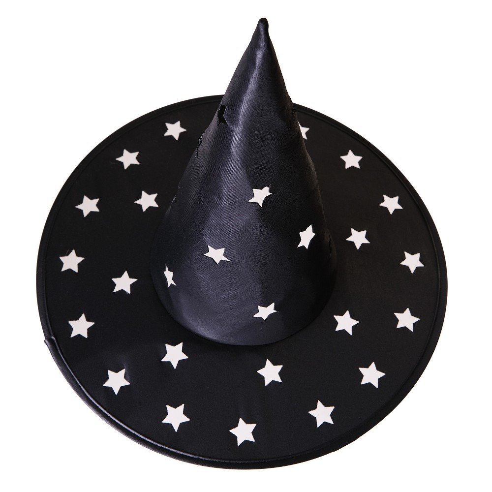 Womens Pierced Star Witch Hat - Hyde and Eek! Boutique