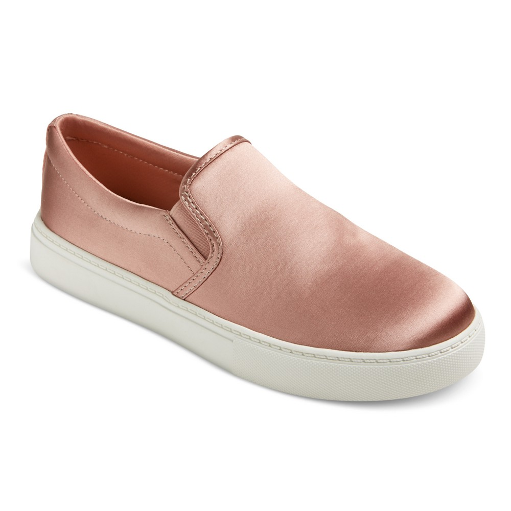 Womens Charlotte Satin Sneakers - Mossimo Supply Co. Pink 8