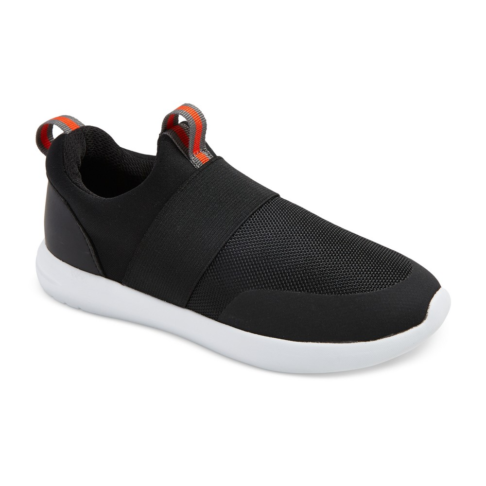 Boys Newman Casual Sneakers - Cat & Jack Black 6