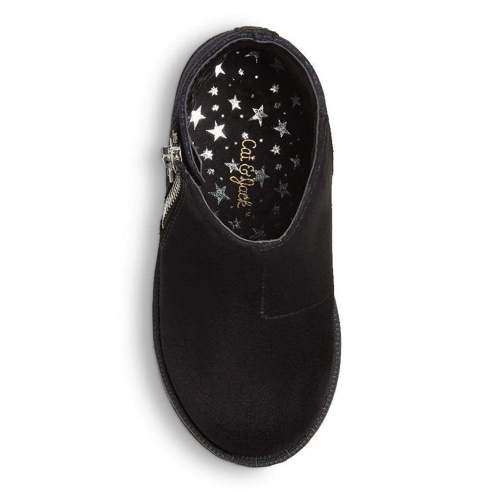 Toddler Girls Jolina Ankle Fashion Boots 7 - Cat & Jack - Black