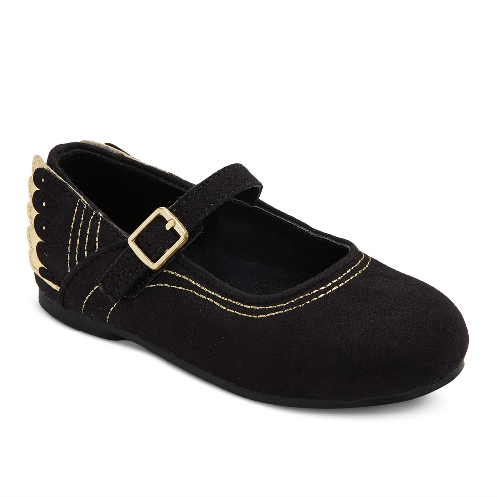 Toddler Girls Catlin Ballet Flats 12 - Cat & Jack - Black